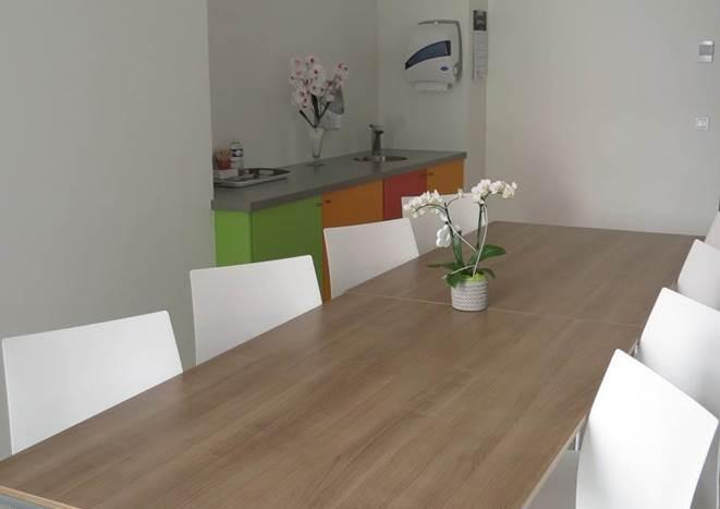 salle à manger familles