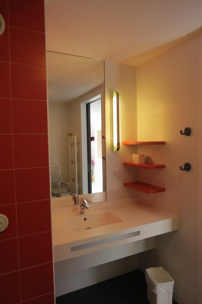 salle bain chambre